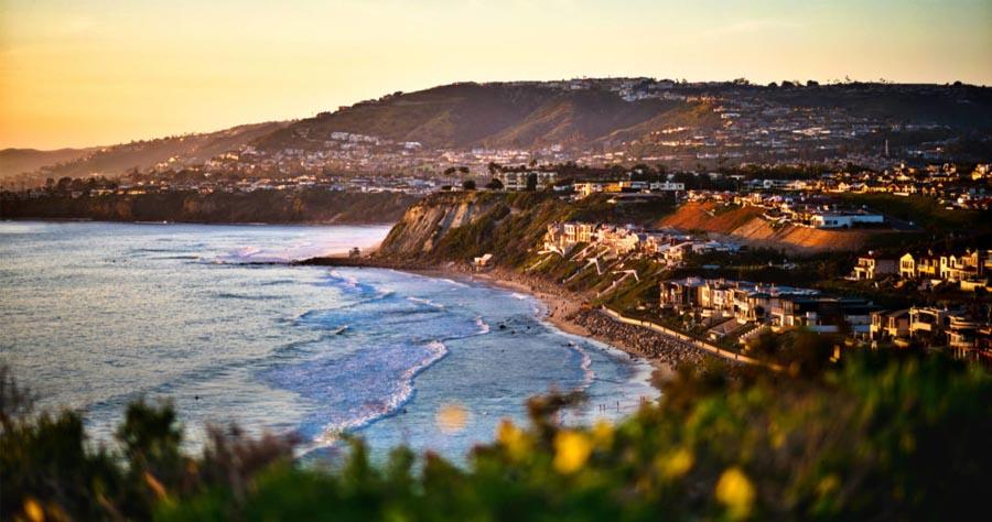 View of Dana Point CA