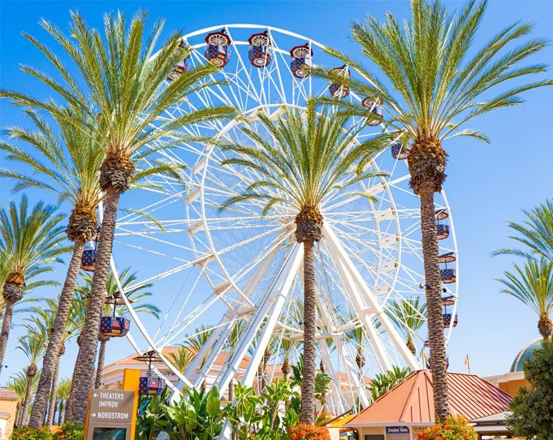 View of the Irvine Spectrum in Irvine CA