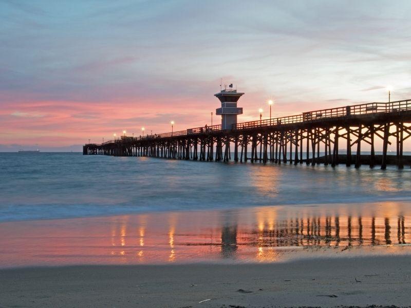 View of Seal Beach CA